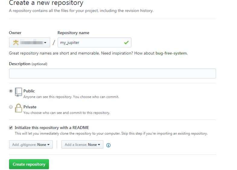 create repostory